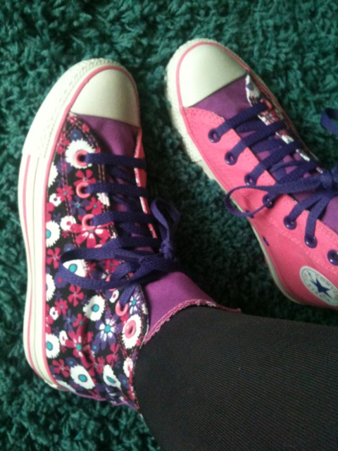 Style: Gorgeousness in canvas is converse