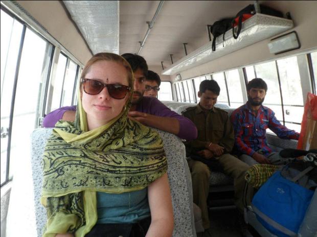 Ellie in India