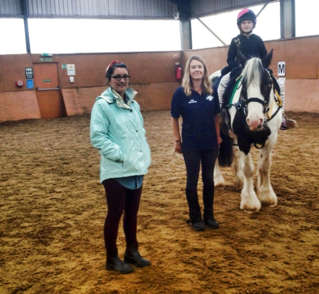 Horseback yoga uk, yoga with horses, disability yoga, special yoga